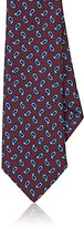 Barneys New York Men's Paisley Silk Satin Necktie
