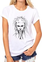 ANGRYDEER Die Antwoord Yolandi Music Dark Line Form Womens T-Shirt