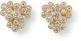 Ippolita Glamazon Stardust 18K Diamond Bezel Cluster Earrings