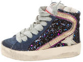 Golden Goose Deluxe Brand Girls' Francy High-Top Sneakers