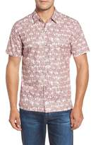 Men's Tori Richard La Palma Regular Fit Print Sport Shirt