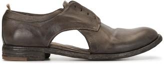Officine Creative Cutout Oxford Shoes