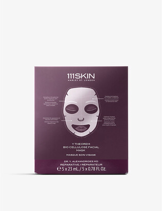 111SKIN Y Theorem Bio Cellulose facial mask box of 5