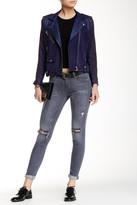 Hudson Shine Mid Rise Skinny Jean
