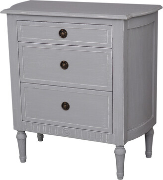 East At Main East At Main's Cassidy 3 Drawer Chest Nightstand