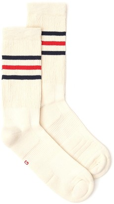 Gucci Striped Logo Socks