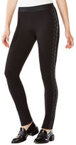 BCBGMAXAZRIA Jaims Lace-Up Ponte Legging
