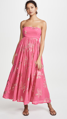 Free People Baja Babe Midi Dress