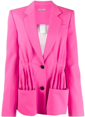 Nina Ricci Oversized Pleated Front Blazer