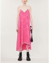 Zadig & Voltaire Zadig&Voltaire Risty floral-print silk-satin maxi dress