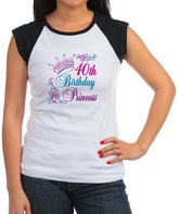 CafePress - 40Th Birthday Princess - Women's Cap Sleeve T-Shirt