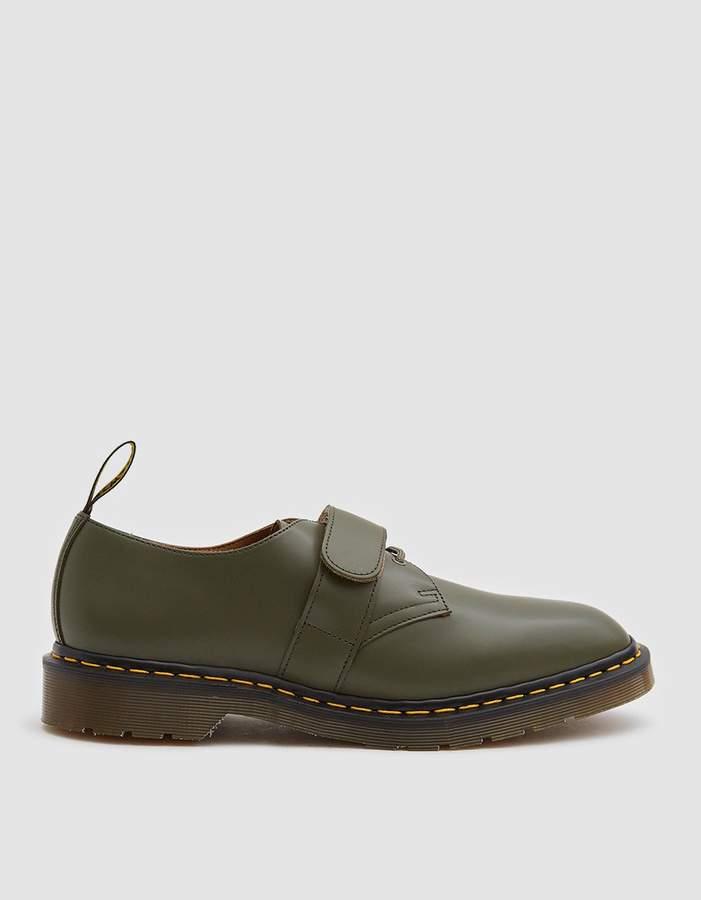 Dr. Martens x Engineered Garments 1461 Smith Shoe in Khaki