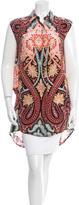 Thakoon Silk Button-Up Tunic