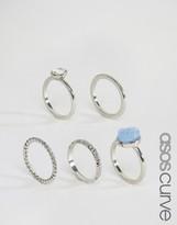 Asos Pack of 5 Mystical Rings