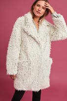 Anthropologie Plush Artio Coat
