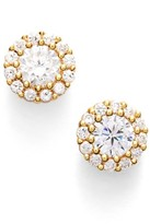 Nordstrom Women's Precious Metal Plated 0.50Ct Tw Cubic Zirconia Stud Earrings