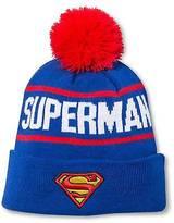 Superman Superman; Men's Beanies - Royal Blue One Size