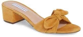 JAMES CHAN Suzy Bow Slide Sandal