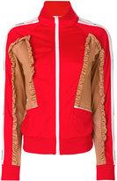MSGM contrast bomber jacket