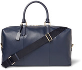 Smythson Burlington Full-Grain Leather Holdall