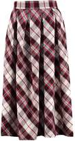 Replay Pleated skirt red/white