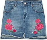 GUESS Embroidered Denim Skirt, Big Girls (7-16)