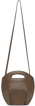 Low Classic Taupe Bucket Shoulder Bag