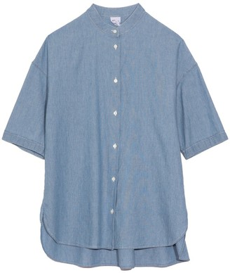 Aspesi Full Chambray Blouse in Chambray