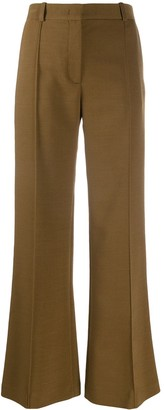 See by Chloe Wool-blend flared trousers