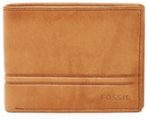 Fossil Watts Bifold Leather Wallet