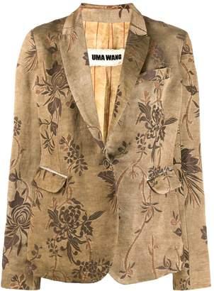 UMA WANG floral blazer