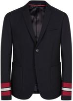 Gucci Navy Cotton Blazer