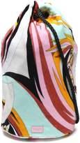 Emilio Pucci Printed Terry Beach Bag