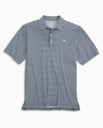 Southern Tide Gingham Driver Performance Polo