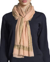 Janavi Diamonds Are Forever Stones Cashmere Stole