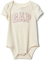 Gap Dotty logo short sleeve bodysuit