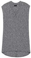 Bobeau Knit Shift Dress With Pocket.