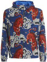 Gucci Tiger Printed Nylon Jacket