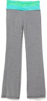 Old Navy Go-Dry Cool Fitted Yoga Pants for Girls