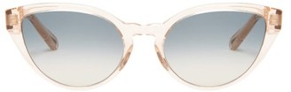 Chloé Willow Cat-eye Acetate Sunglasses - Womens - Light Pink