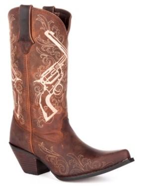 Durango Cross Guns Cowboy Boot