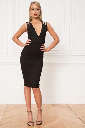 by the way. Valentina Deep V Dress