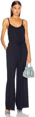 Raquel Allegra Bianca Jumpsuit in French Blue | FWRD