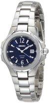Seiko Women's SXDB67 Coutura Silver-Tone Blue Dial Coutura Watch