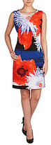 Peter Nygard Petites Printed Sloane Sheath Dress