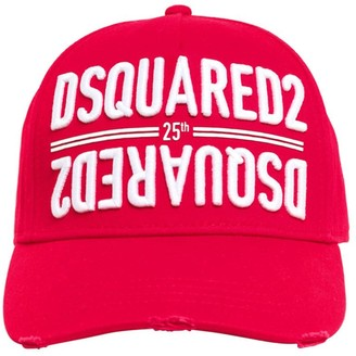 DSQUARED2 Anniversary Cotton Canvas Baseball Hat