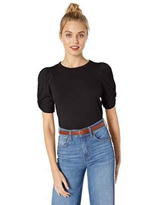 Ella Moss Women's Linnea Twist Sleeve Tee Shirt