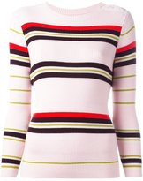 Chinti and Parker ribbed striped sweater