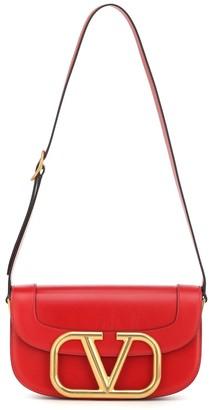 Valentino Supervee leather shoulder bag