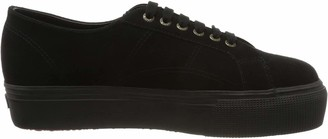 Superga 2790-suew Womens Flatform Sneakers